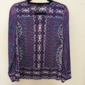 The Limited Paisley Blouse